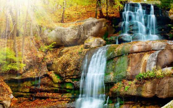 print, водопад, водопады, фотообои, яndex, номерам, водопадом, водопада, природа, коллекциях,