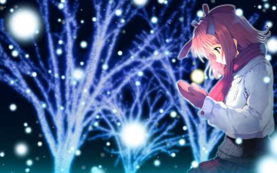 tagme, ueda, ryou, snow,