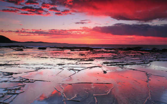 закат, море Фон № 31811 разрешение 1920x1080