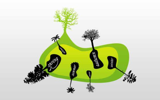 wektor, вектор, птицы, creativ, тегам, векторные, природа, дерева, ветках,