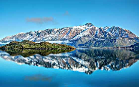 mountains, горы, природа, новая, zealand, full, картинка,