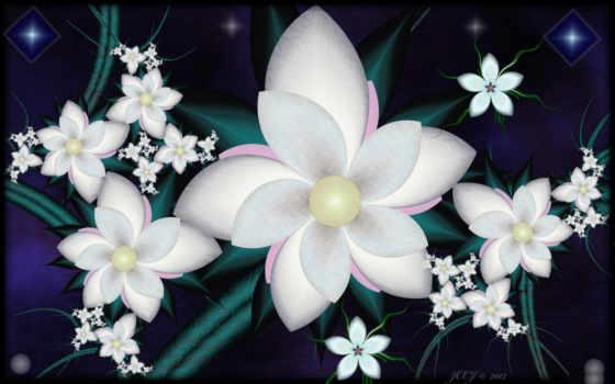 цветы, stainz, обстракция