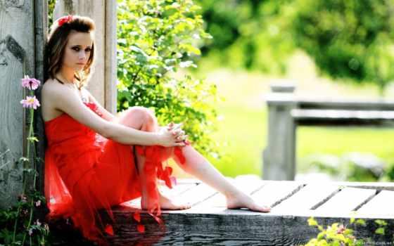 summer, девушка, красавица