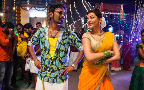 maari, movie, kajal, dhanush, stills, agarwal, tamil, photos, images, aggarwal,