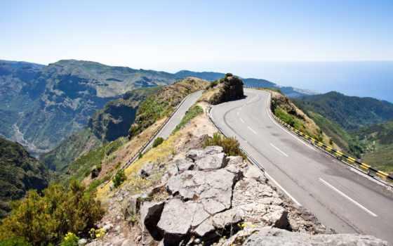 дорога, гора, мотоспорт, desktop, фон, wallpaperlayer, ready,