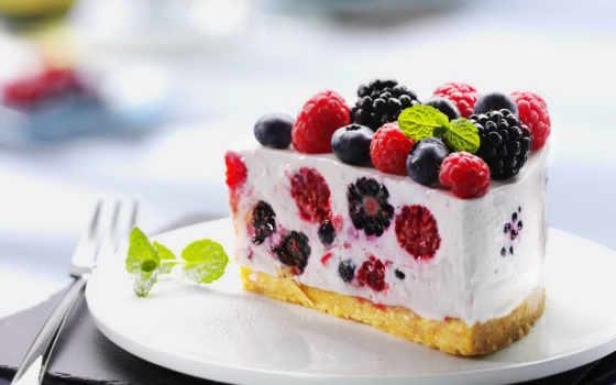 торт, ягодами, ягоды, малиной, черникой, малина, лесными, черника, десерт, browse, ежевикой,