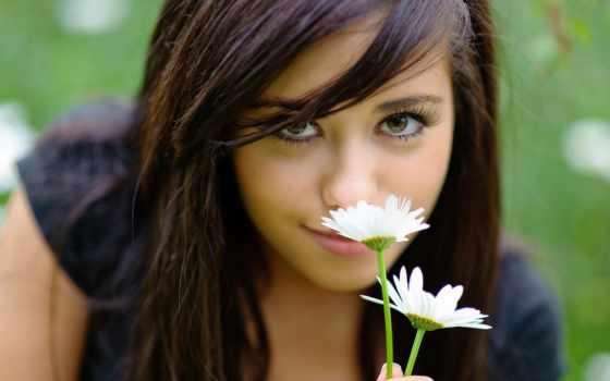 девушка, devushki, ромашками, рoмашек, резиновая, veralline, ок, украшения, красивая, аватар,