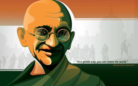 gandhi, махатма, india, you, indian, desktop,