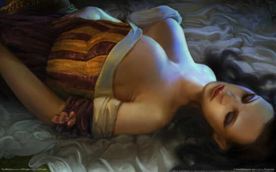 fantasy, witcher, игры, gothic, стиле, girls, gallery, trong, iphone, frau,