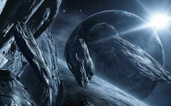 cosmos, метеориты, дек