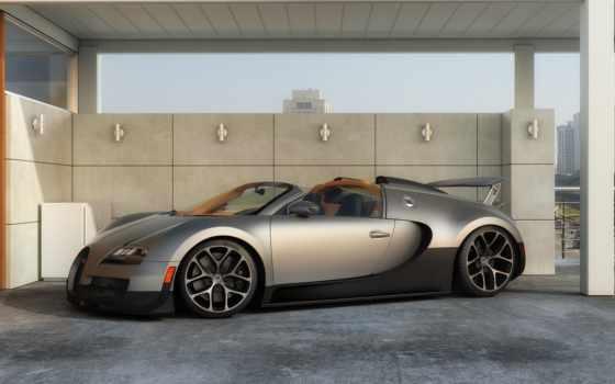 bugatti, veyron, спорт, vitesse, grand, суперкар,
