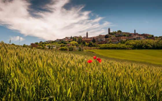 italian, пейзажи -, piedmont, италии, margin, italy, маки, деревня, favourite, youtube,