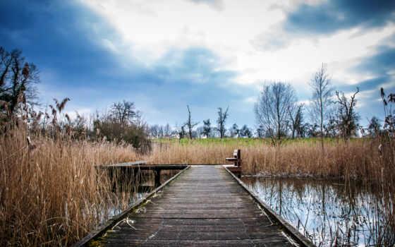 scenery, nice, kumpulan, пруд, images, мост, top,