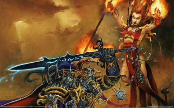 warhammer, fb, яркий, online, chosen, wizard, chaos, age, reckoning, fantasy,
