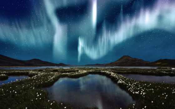 aurora, полярное, явление, северное, смотри, сияние,