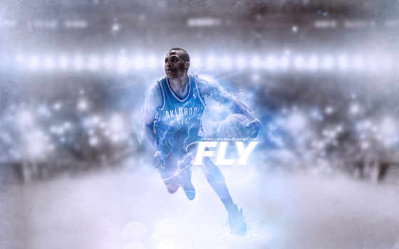 рассел, westbrook, баскетбол