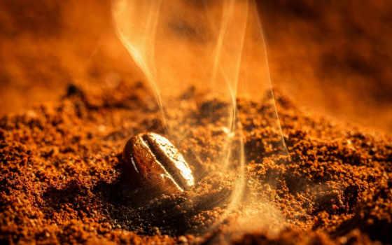 ,кофе,зерно,дымок,
