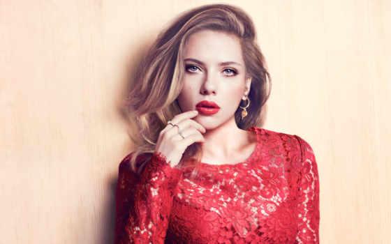 платье, макияж, красном