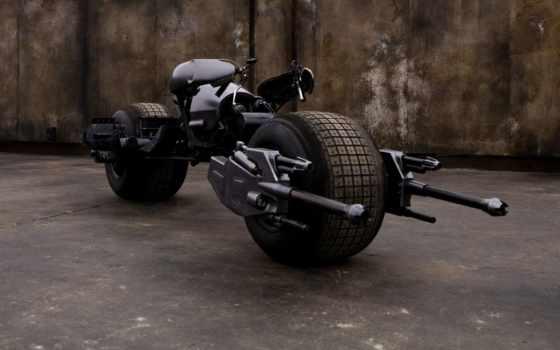 мотоциклы, бэтмана, фильмы, batman, фотообои, мотоцикл, широкоформатные, рыцарь, киноинфо,