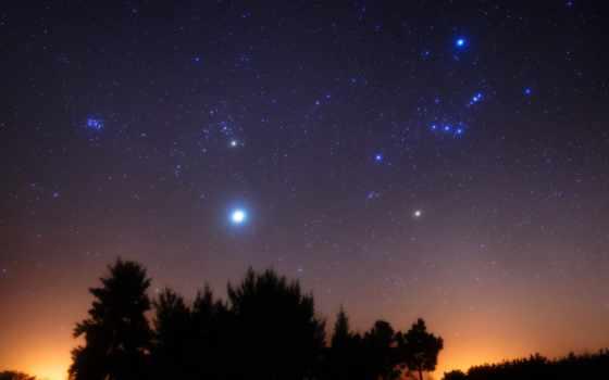 orion, созвездие, звезды, nebula, ориона, betelgeuse, небо,
