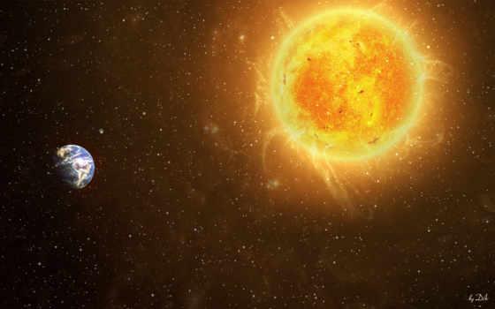космос, солнце Фон № 24720 разрешение 2560x1600