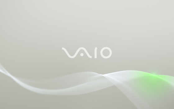sony vaio grey waves