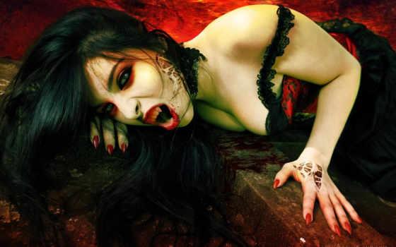 vampire, девушка, вампиры
