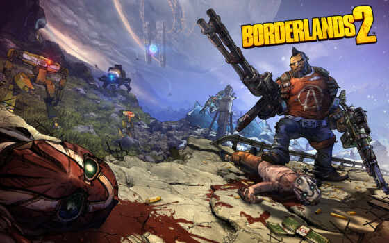 game, borderlands, cover