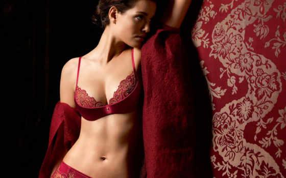 девушка, белье, devushki, красивые, fantasy, красном,