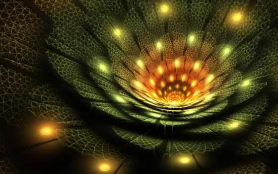 fractal, art, фон