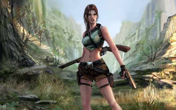 raider, tomb, крофт, лара, game, everything, девушка, комментарий, материал