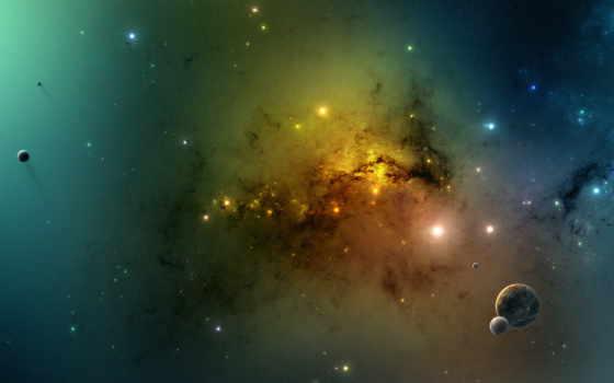 планеты, galaxy, космос