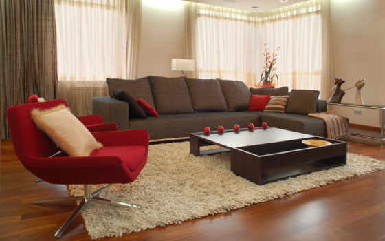interer, dizain, комната, июл, интерьера, living, зала, небольшой, янв, remont, зал,