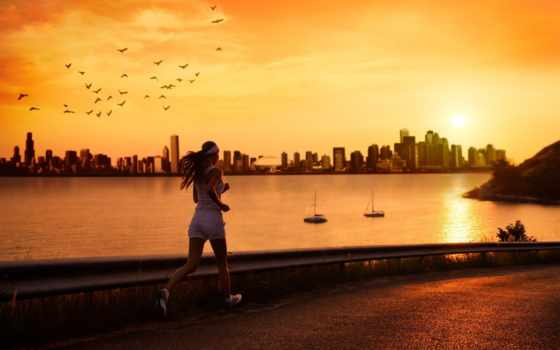 run, спорт, женщина