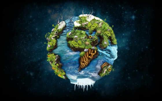 planet, land, есть