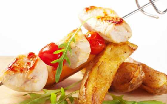 еда, cherry, помидоры, высокого, разрешения, meat, кафе, еды, шашлык, capriccio,