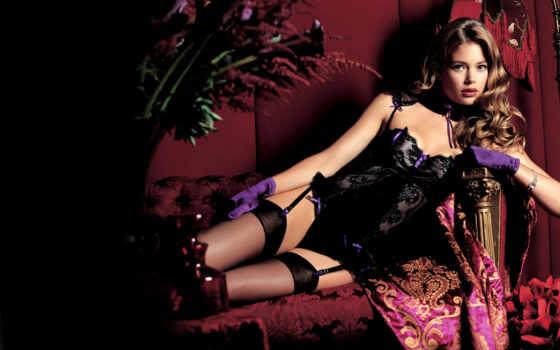 даутцен, крез, нижнее, doutzen, new, kroes, vogue, fashion, lingerie, summer, fashiony,