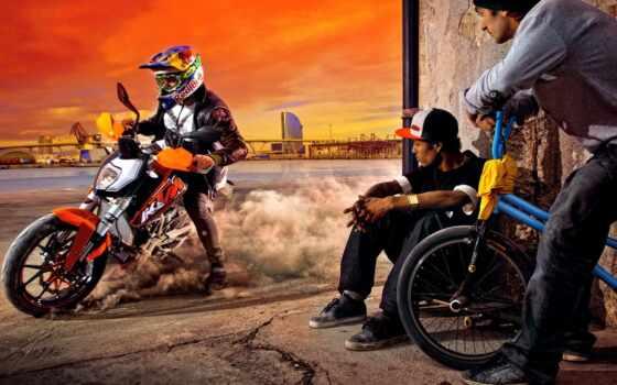 мотоцикл, duke