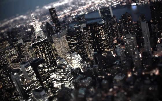 город, ночь, огни Фон № 142283 разрешение 1920x1080