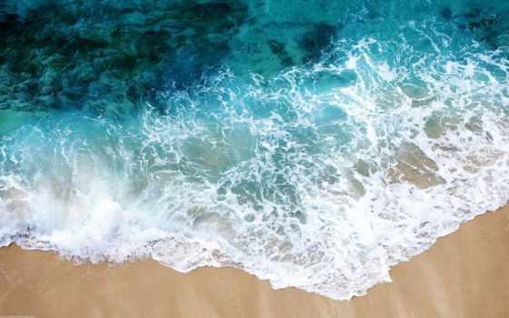 пляж, песок, море, water, прозрачная, чистота, пенка, свежесть,