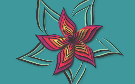 цветы, abstract, design, ipad, цвета, pattern, vektor, цветок, синий, узор, pixabay