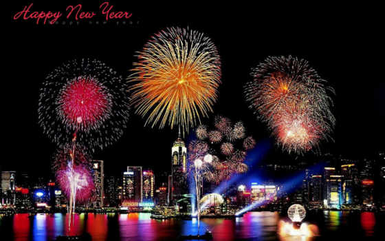new, year Фон № 13729 разрешение 1920x1200