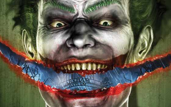 asylum, arkham, batman, joker, games, smile, desktop, computer, full, you, image,