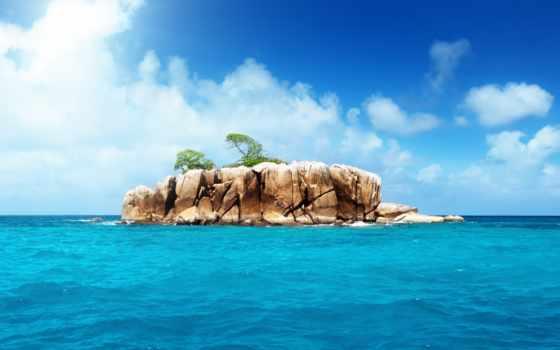 остров, природа