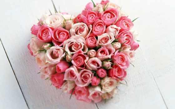 святого, валентина, открытки, днем, день, цветы, цветов, розы,