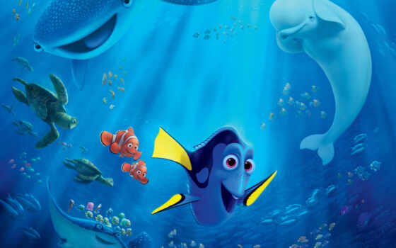 finding, dory, new, movie, disney, posters, об, немо, pixar,