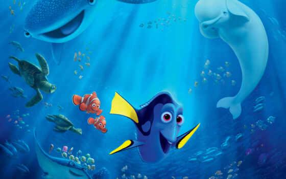finding, dory, new, movie, disney, posters, об, немо, pixar,