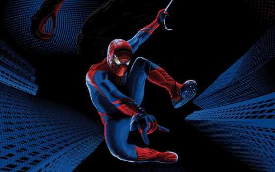 паук, мужчина, amazing, new, гарфилд,