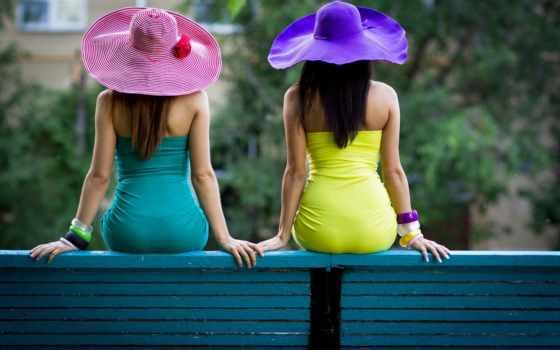 спинои, девушка, подруги, две, сидят, сидит, devushki,