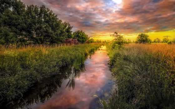 summer, природа, landscape, река, трава, посмотрите, коллекцию, яndex, коллекциях, поле,